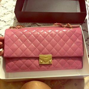 2016 Chanel Bubble Gum Patent Shoulder Bag
